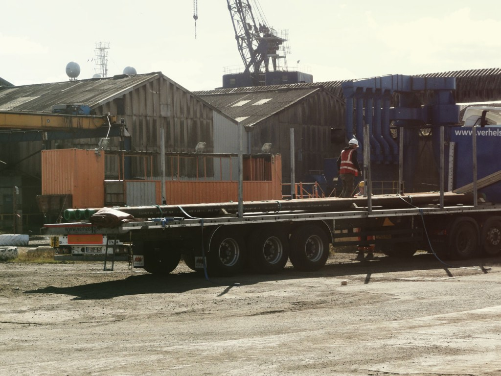 Petrex Developments Personnel at the Brodero Yard Leith (1)